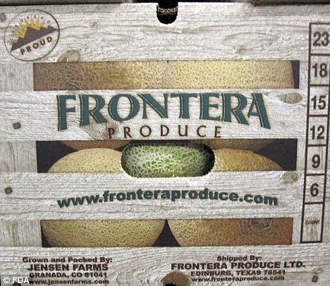 The recalled cantaloupe involved in Listeria outbreak may be labeled Colorado Grown, Distributed by Frontera Produce, Jensenfarms.com or Sweet Rocky Fords