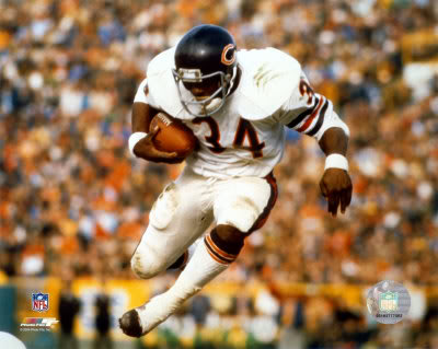 Walter Payton, Sweetness, became the first African American to break a record that was held only by whites in the NFL during modern football.
