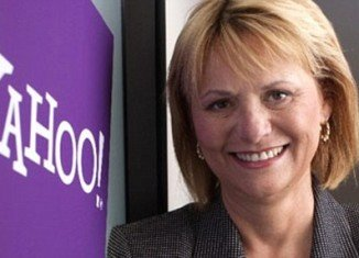 Yahoo CEO Carol Bartz posted her first official blog post today.