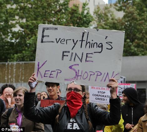 """Occupy"" protests in Seattle"