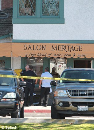 A 41-year-old gunman is said to have shot a total of nine hairdressers and customers at Salon Meritage, a beauty salon just blocks from the Pacific Ocean in the upscale seaside resort of Seal Beach