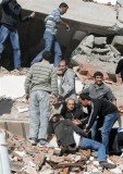 A 7.2 magnitude earthquake hit eastern Turkey, in the province of Van, on the border with Iran