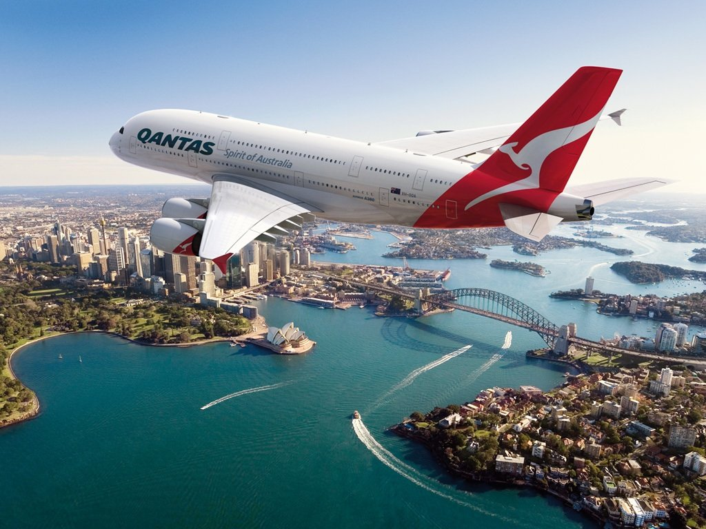 An industrial dispute made the Australian airline Qantas to ground all international and domestic flights with immediate effect photo