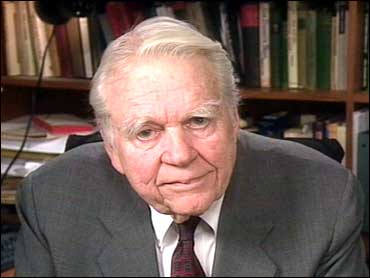 Andy Rooney was hospitalized yesterday after suffering serious complications following surgery photo