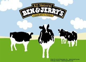 Ben & Jerry's is the first corporate that is backing the Occupy Wall Street movement