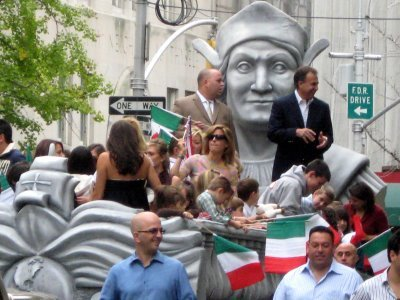 Columbus Day Parade is one of the New York City's annual big events