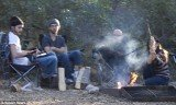 Demi Moore and Ashton Kutcher spent Yom Kippur day on a Kabbalah camping retreat at Cachuma Lake in an attempt to rebuild their marriage
