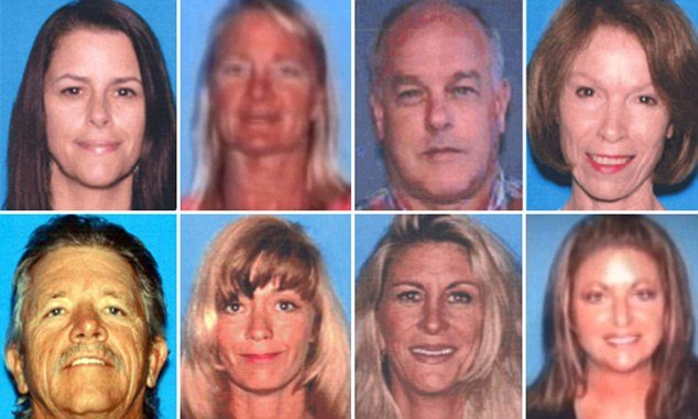 Eight people were the innocent victims killed during the Seal Beach massacre by the crazed gunman Scott Dekraai photo