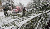 October snowstorm killed 3 people and left 2.3 M houses without power on East Coast.