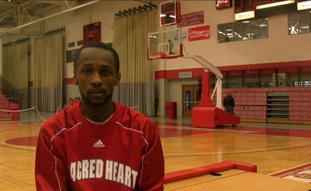 Former Sacred Heart guard Chauncey Hardy died yesterday after suffering two heart attacks following the beating on Saturday night