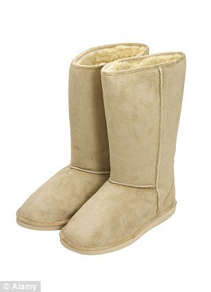 Genuine Ugg boots are made from Australian sheepskin and cost up to $300