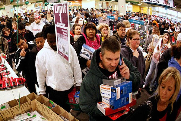 In 2011 consumers are starting their Christmas shopping earlier than ever, as Black Friday websites already launched their offers