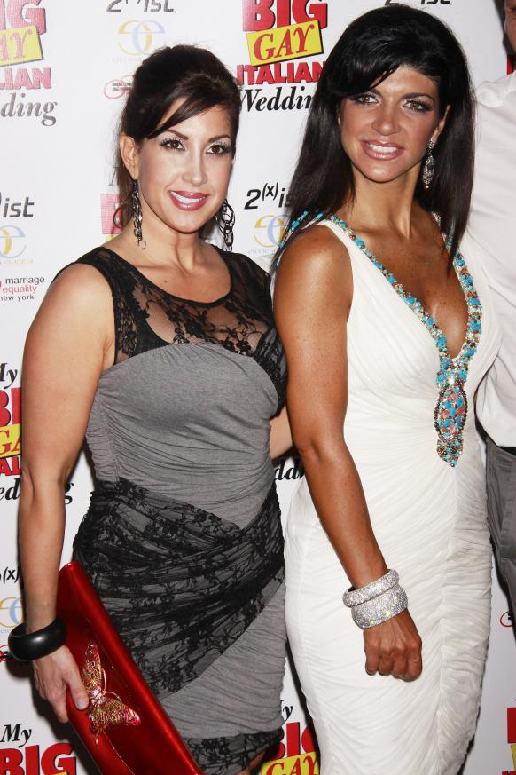 Jacqueline Laurita and Teresa Giudice