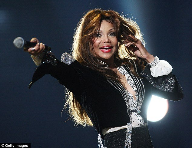 Michael Jackson's sister, La Toya, came out after almost 20 years of retirement to perform