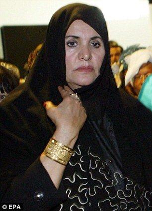 Muammar Gaddafi's widow, Safia