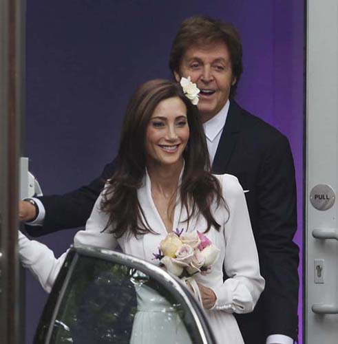 Nancy Shevell is the third wife of Sir Paul McCartney and the daughter of an American trucking magnate photo
