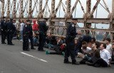 Police arrested more than 700 demonstrators from the Occupy Wall Street protests who took to the roadway as they tried to cross the Brooklyn Bridge