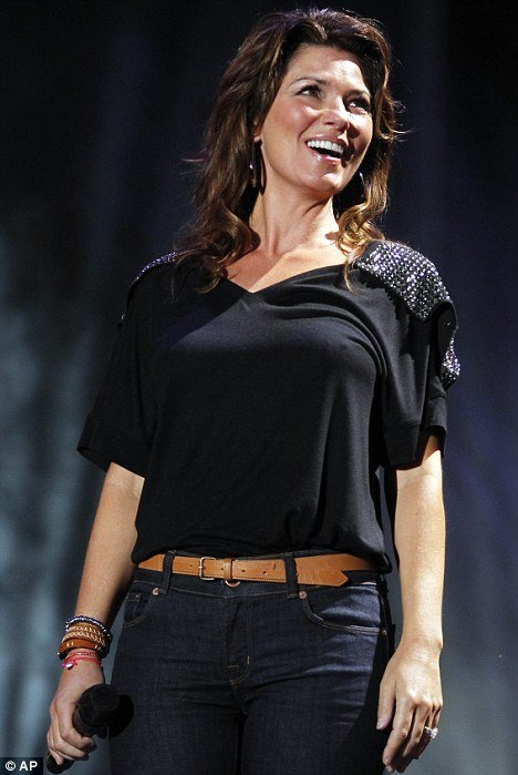 Shania Twain testified via video link in June photo