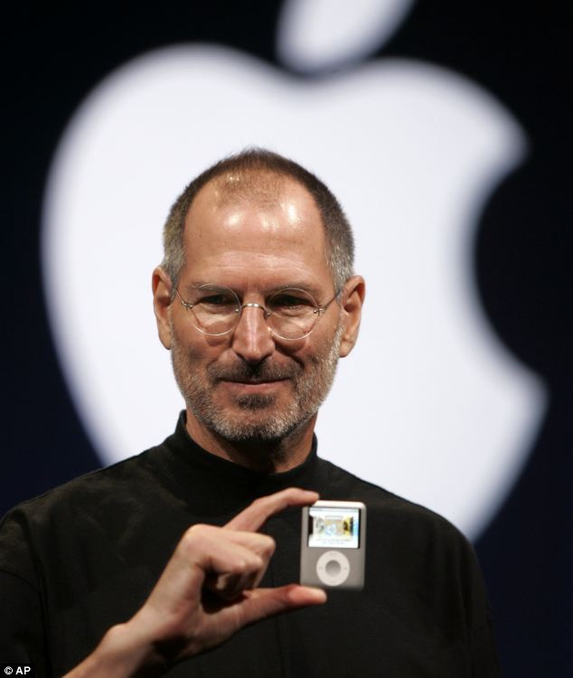 Steve Jobs introduces the Apple Nano in San Francisco