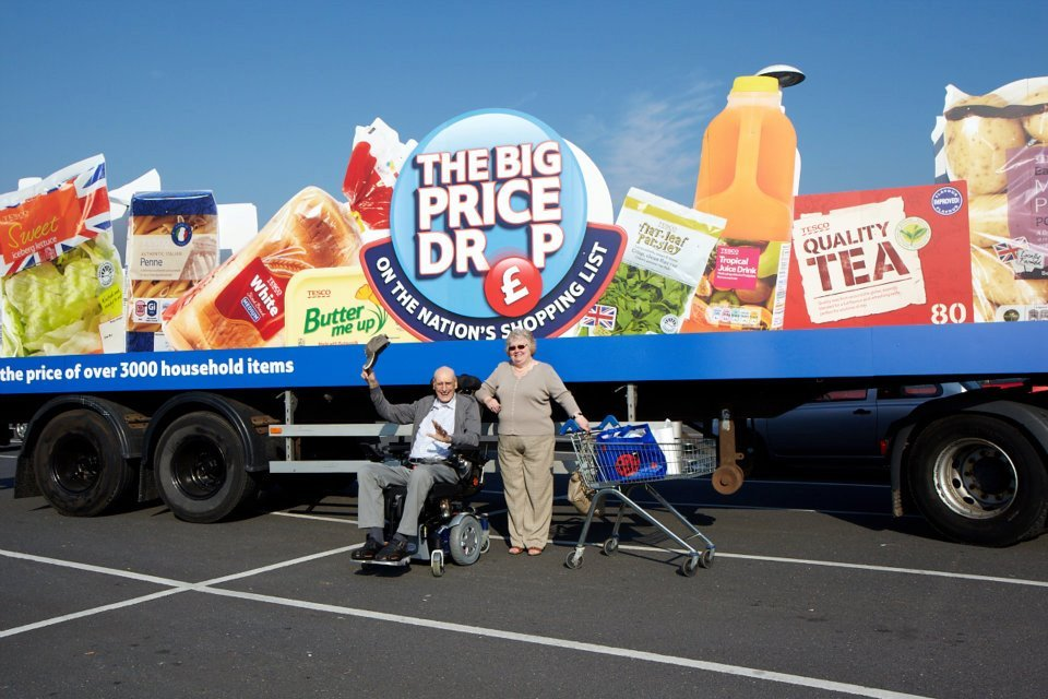 "Tesco pushed prices up on hundreds of products few weeks prior to £500 million price cutting campaign ""Big Price Drop"","