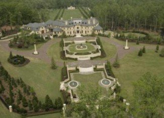The $45 million Atlanta mansion - Forsyth County estate Le Rêve - was foreclosed and then sold at only $11.5 million