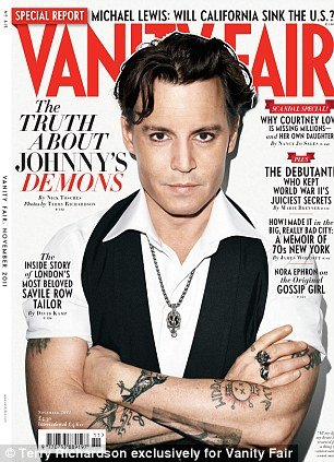 The November issue of Vanity Fair