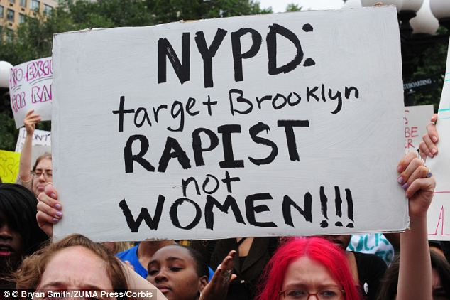 "The SlutWalk march was organized after a NYPD officer ""advised"" women not to wear short skirts after at least 10 unsolved sexual attacks have occured"