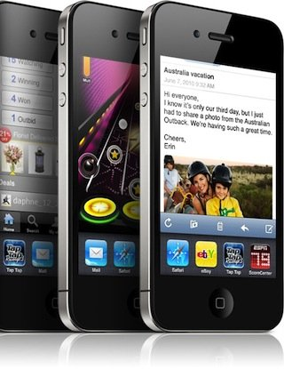 The iOS 5 free update is intended to bring (some) older iPhones into line with the functions offered by iPhone 4S