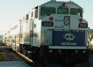 The woman pushing a baby stroller was struck and killed by a Metrolink passengers train in Riverside