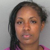 Theresa Monique Jefferson was arrested after she and another woman threw bleach and another chemical on each other during an argument at Walmart store in Baltimore