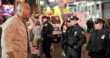 Thor, Marine Corp Sergeant Shamar Thomas yelled at a crowd of NYPD officers being too aggressive against peaceful Occupy Wall Street protesters from Times Square
