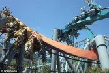 Universal Orlando is altering its iconic twin roller coasters Dragon Challenge after a man claims he had his eyeball removed in one of two horrific accidents on the ride
