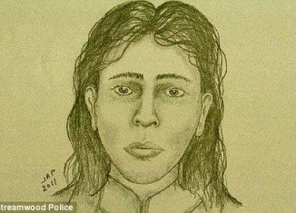 A sketch has been released of the mother who is said to be a Hispanic female between 15 and 25 years old