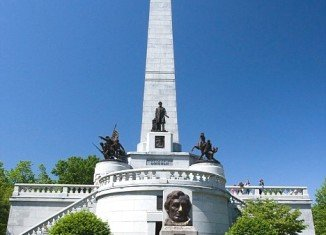A three feet sword from Abraham Lincoln's burial site at Oak Ridge Cemetery in Springfield, Illinois, has been stolen by copper thieves.