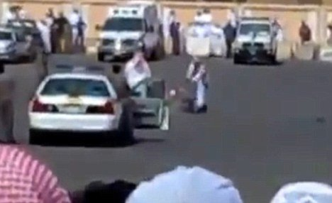Abdul Hamid a Sudanese man was publicly beheaded last month in Saudi Arabia in a car parking for being a sorcerer photo