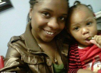 "Chanda Thompson and two friends were killed while they were out buying her two-year-old daughter, Nazhia, a birthday cake from ""A Piece of Cake"" bakery in Chicago"