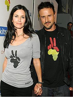David Arquette announced on the radio his marriage to Courtney Cox is definitely over