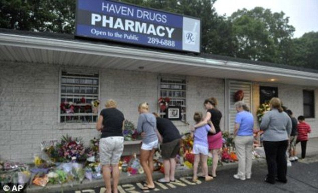 David Laffer walked into Haven Drugs shortly after 10:00 a.m. on June 19 and opened fire without announcing a robbery, killing four people