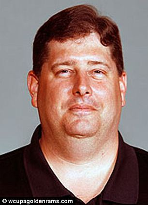 Edward Joel Sandusky, 41, a former Nittany Lions player, is now a football coach at West Chester University