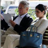 George Soros has hit back at his ex-girlfriend Adriana Ferreyr, who is suing him for $50 million, calling her a money-grabber who is trying to distort him for his fortune