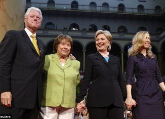 Hillary Clinton's mother, Dorothy Rodham has died aged 92 shortly after midnight on November 1