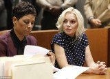 Lindsay Lohan has been ordered to serve 30 days in jail on Wednesday after she admitted to violating her probation