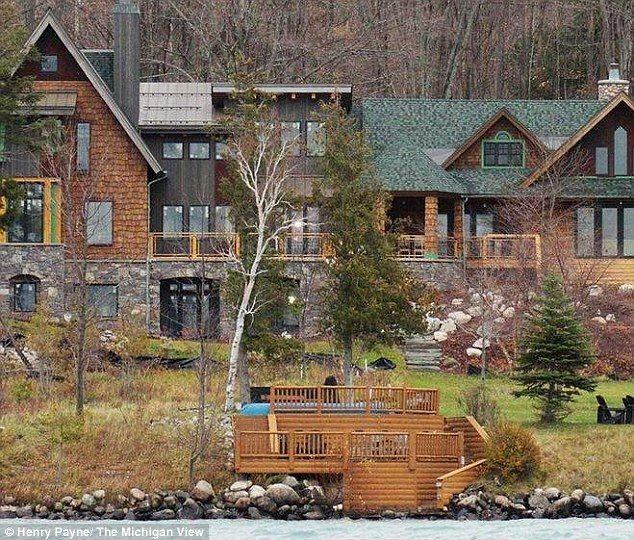 Michael Moore owns a large holiday home on Torch Lake, Michigan in addition to his pricey Manhattan residence