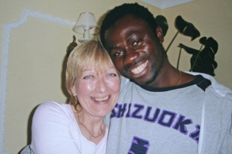 Millionairess widow Christine Ince was trying to find love again when she started dating younger Gambian man, Mustapha Jabbai