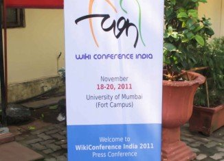 More than seven hundreds people are gathering in Mumbai University campus for India's first Wikipedia conference