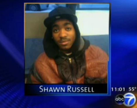 Shawn Russell, Chanda Thompson's boyfriend