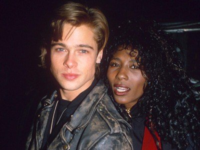 Sinitta dated Brad Pitt in the the late 80s after splitting from long-term love Simon Cowell