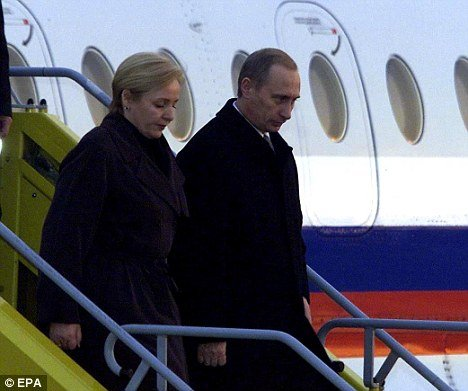 "The Berliner Zeitung in Germany said Vladimir Putin is alleged by his wife, Lyudmila, to have used ""domestic violence and to have had numerous sexual affairs"""