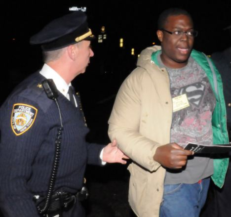 Tonye Iketubosin, an Occupy Wall Street protester who served food at Zuccotti Park camp has been arrested on charges of sexually abusing a woman and is a suspect in a rape