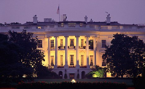 Washington authorities are investigating a report that gunshots were fired near the White House on Friday
